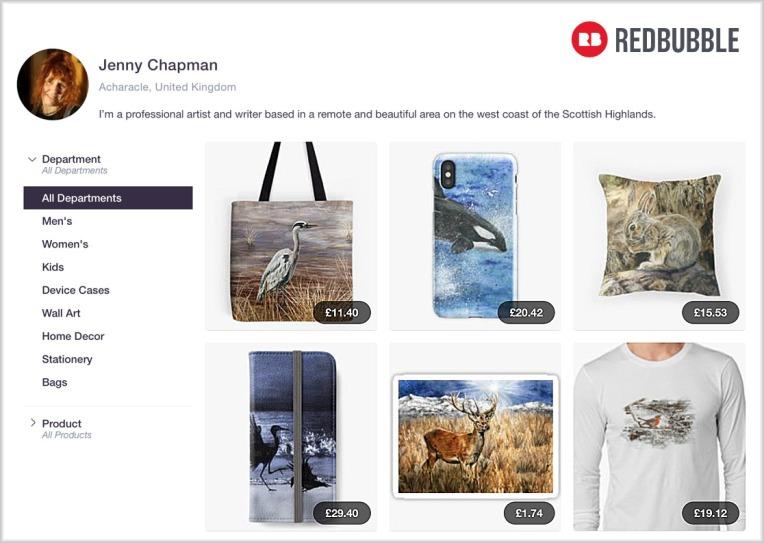 Redbubble-shop-screenshot