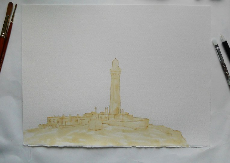 Lighthouse-work-in-progress-stage-1