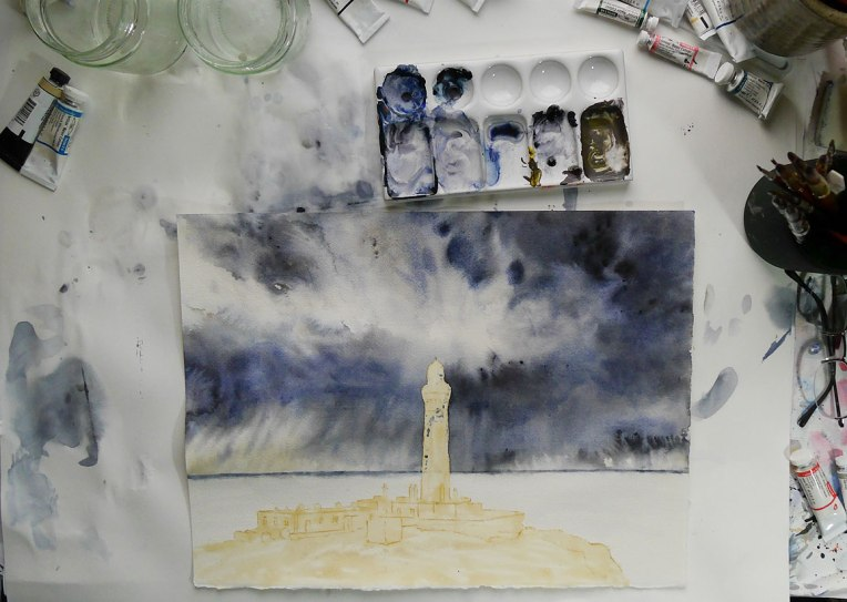Lighthouse-work-in-progress-stage-2