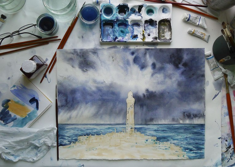 Lighthouse-work-in-progress-stage-3
