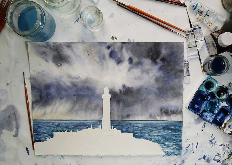 Lighthouse-work-in-progress-stage-4